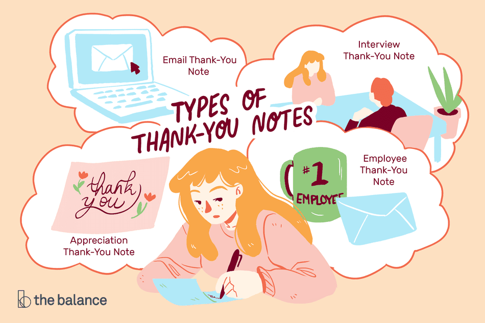Sample Thank You Notes and Email Messages.