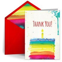 Thank you card clipart portrait Transparent pictures on F.