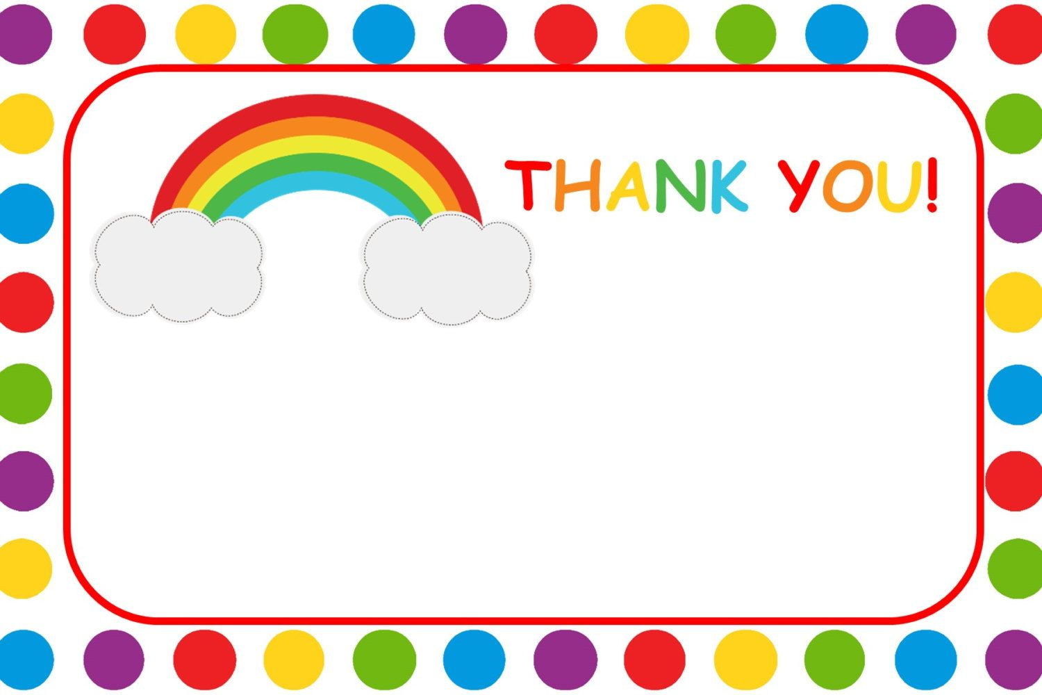 Thank You Card Clipart at GetDrawings.com.
