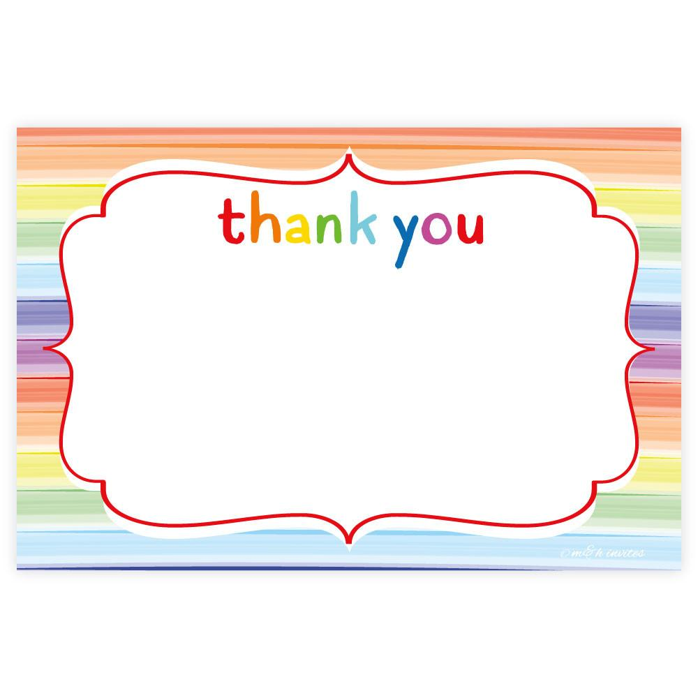 Thank you card clipart 5 » Clipart Station.