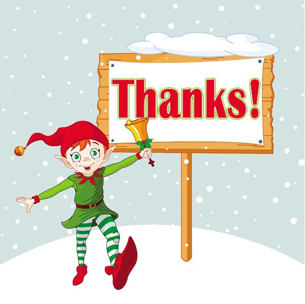 Best Christmas Thank You Clip Art #22897.