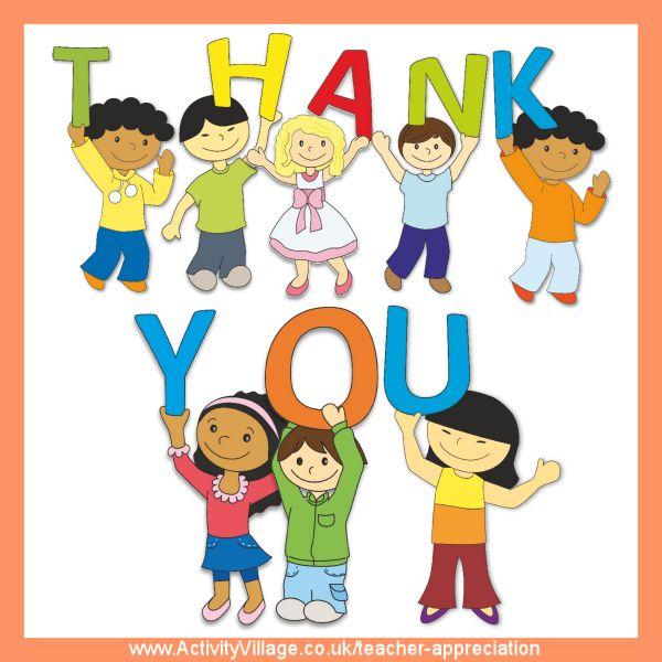 Teacher Appreciation Ideas for Parents and Kids.