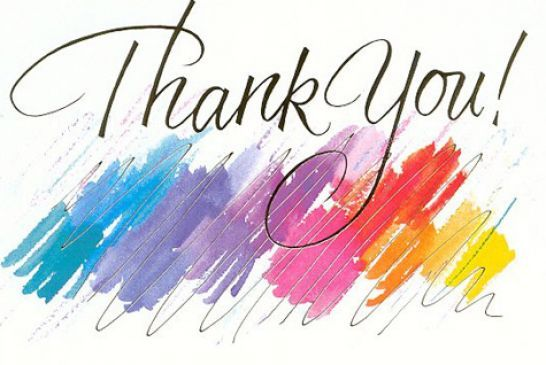 Animated Thank You Clip Art.