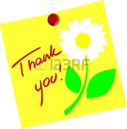 6,676 Thank You Flowers Cliparts, Stock Vector And Royalty Free.