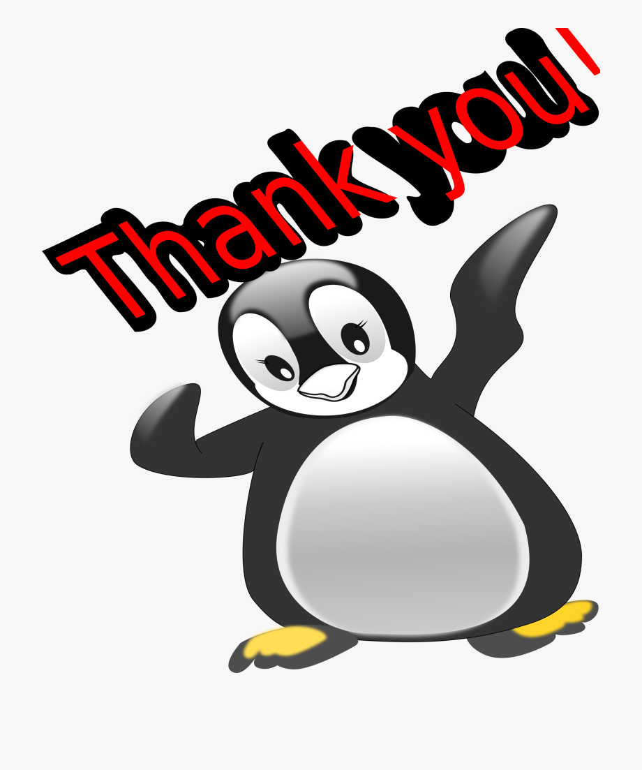 Clipart Thank You Penguin.