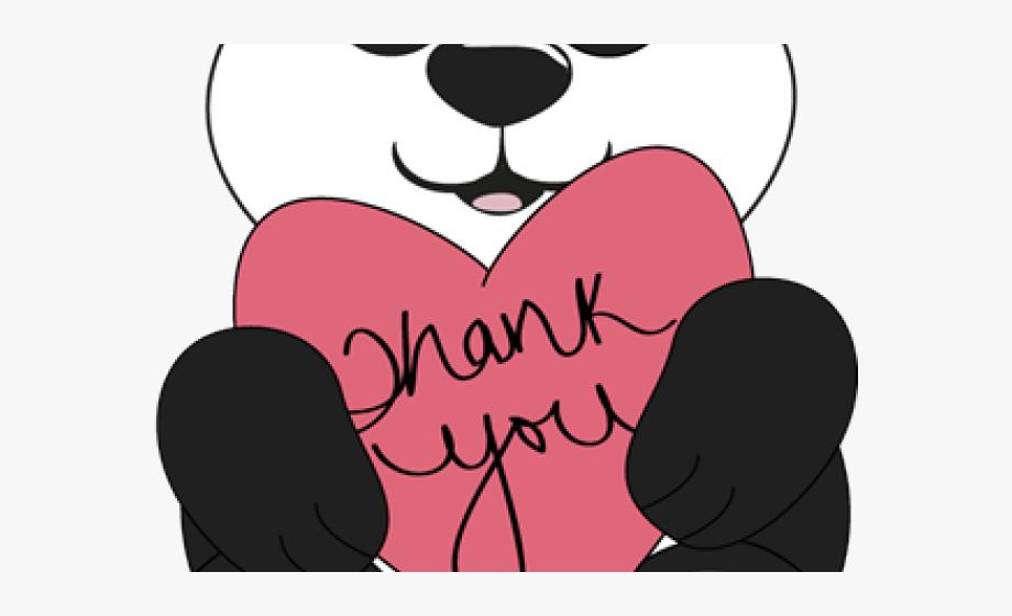 Thank You Clipart Bear.