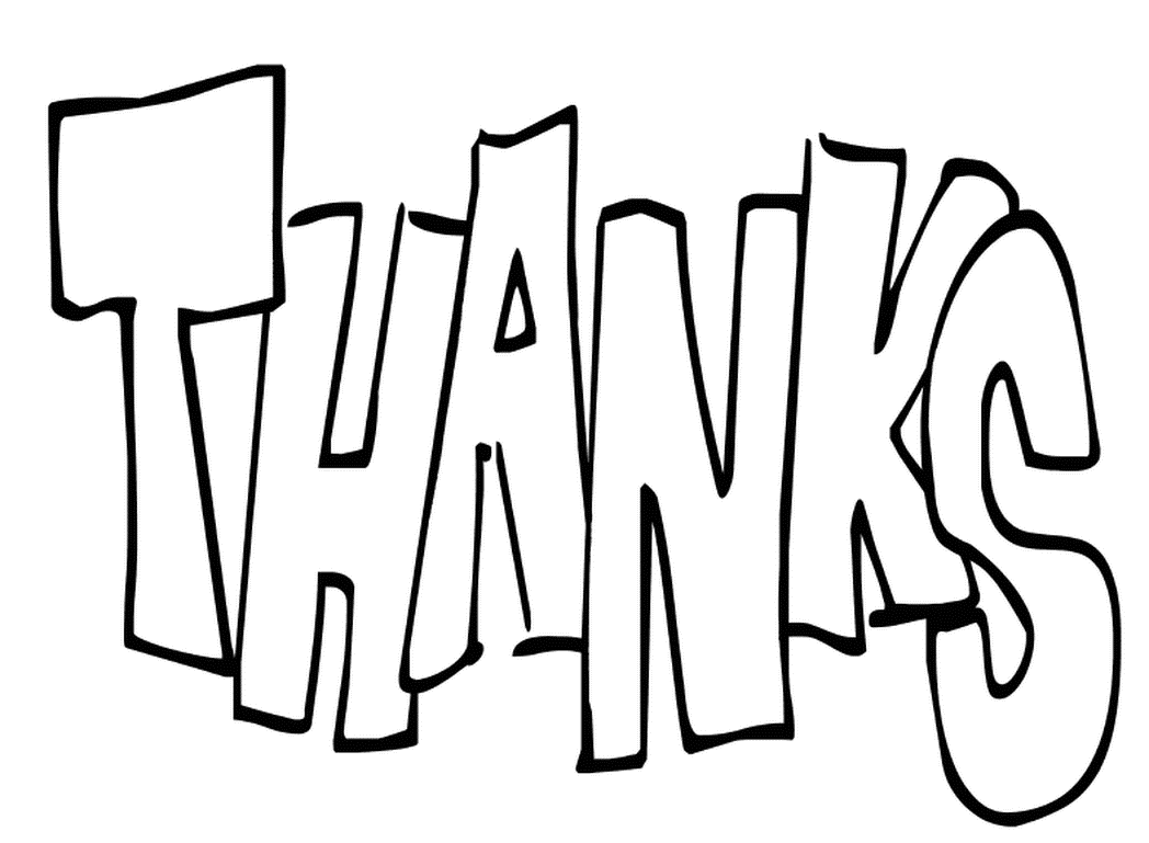 showing thanks coloring pages - photo#29