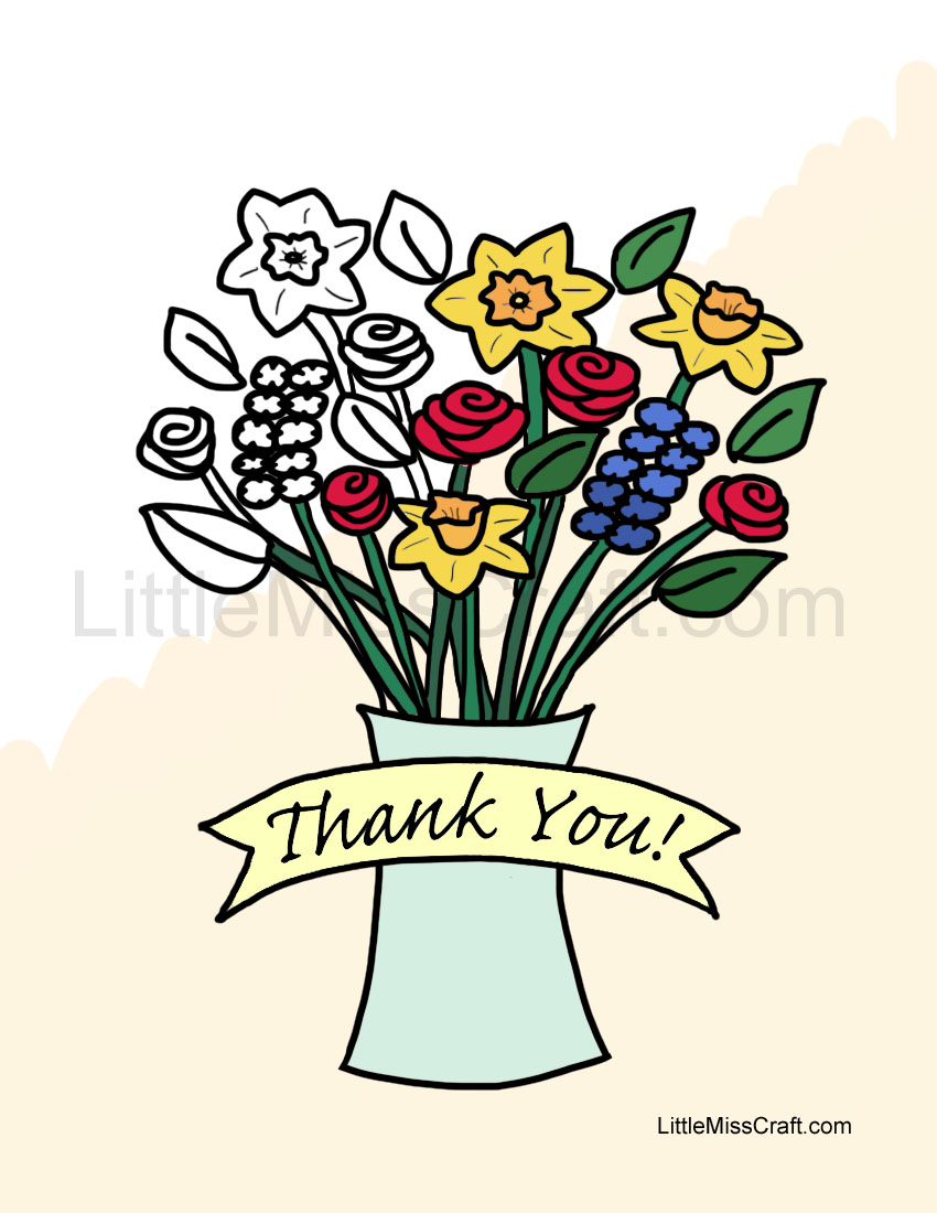 Thank You Color Clipart Clipground