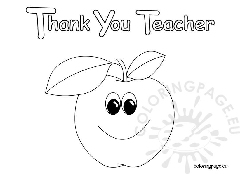 Thank You Teacher clip art.