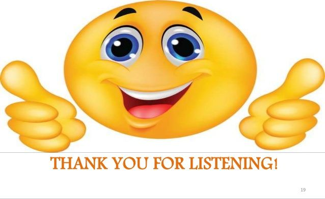 Image result for thank you for listening emoji.