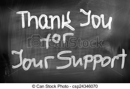 Picture of Thank You For Your Support Concept csp24346070.