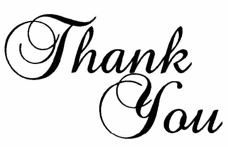 Thank You For Your Support Clipart#2163001.