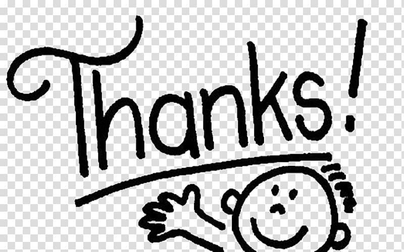White Thanks! illustration, Gratitude Feeling Love Thought.