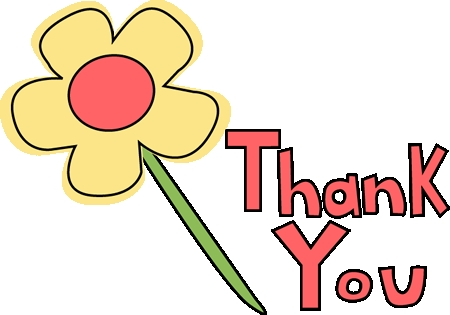 Clipart Flowers Thank You Thank You Flower Image Thank You.