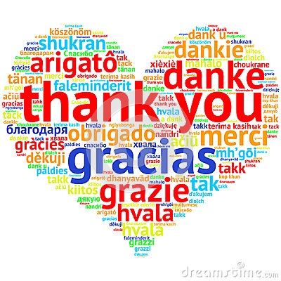 Thank you in different languages clipart 8 » Clipart Station.