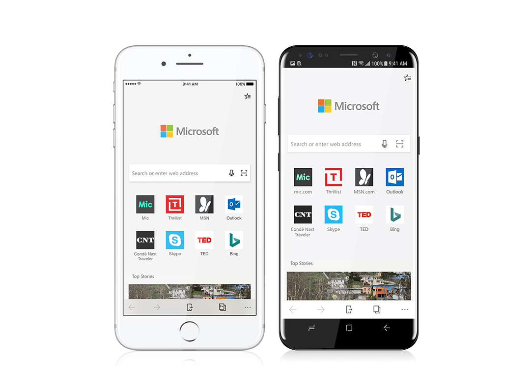 Microsoft Edge App Download for Android and IOS.