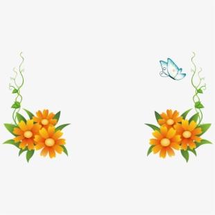 Border Frame Flower Clipart.