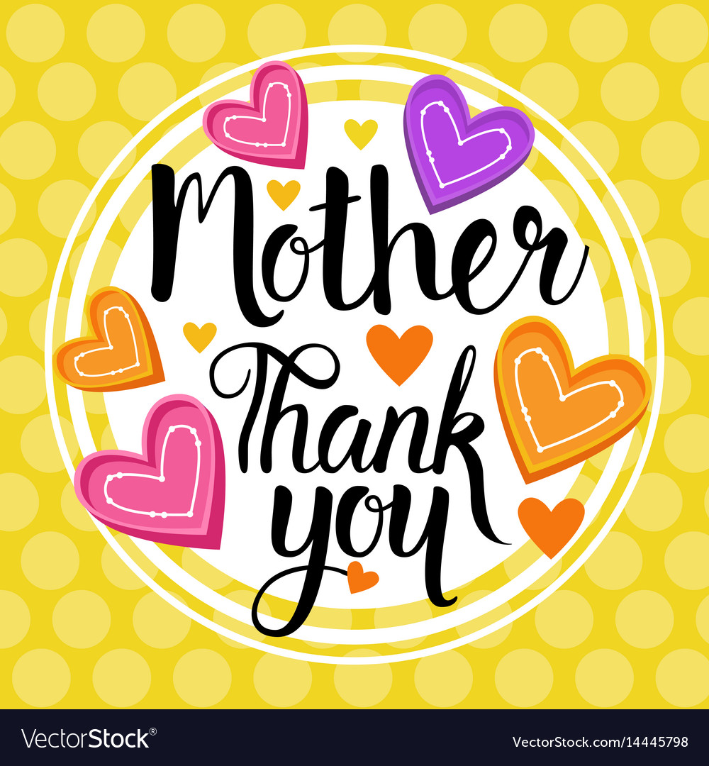 Thank you mom happy mother day spring holiday.