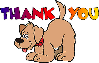 Free Animated Thank You Clipart.