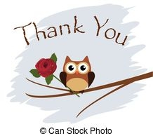 Thank You Owl Clipart.