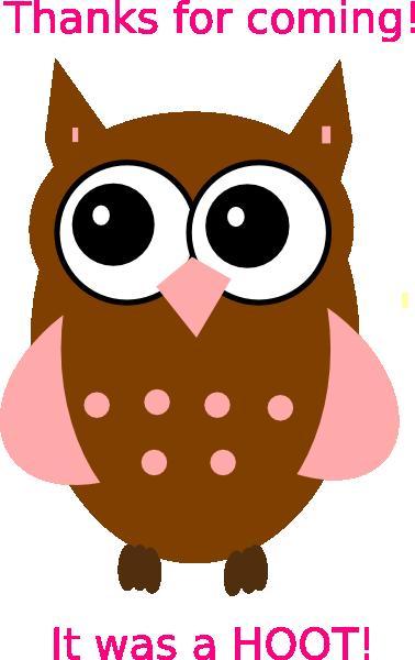 Pink Owl Clip Art at Clker.com.