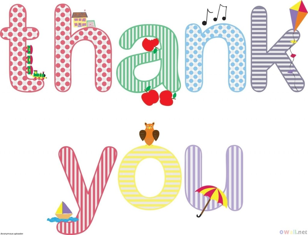 Best Thank You Clipart #1066.