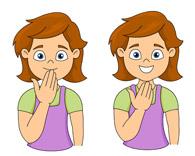 39+ Sign Language Clip Art.