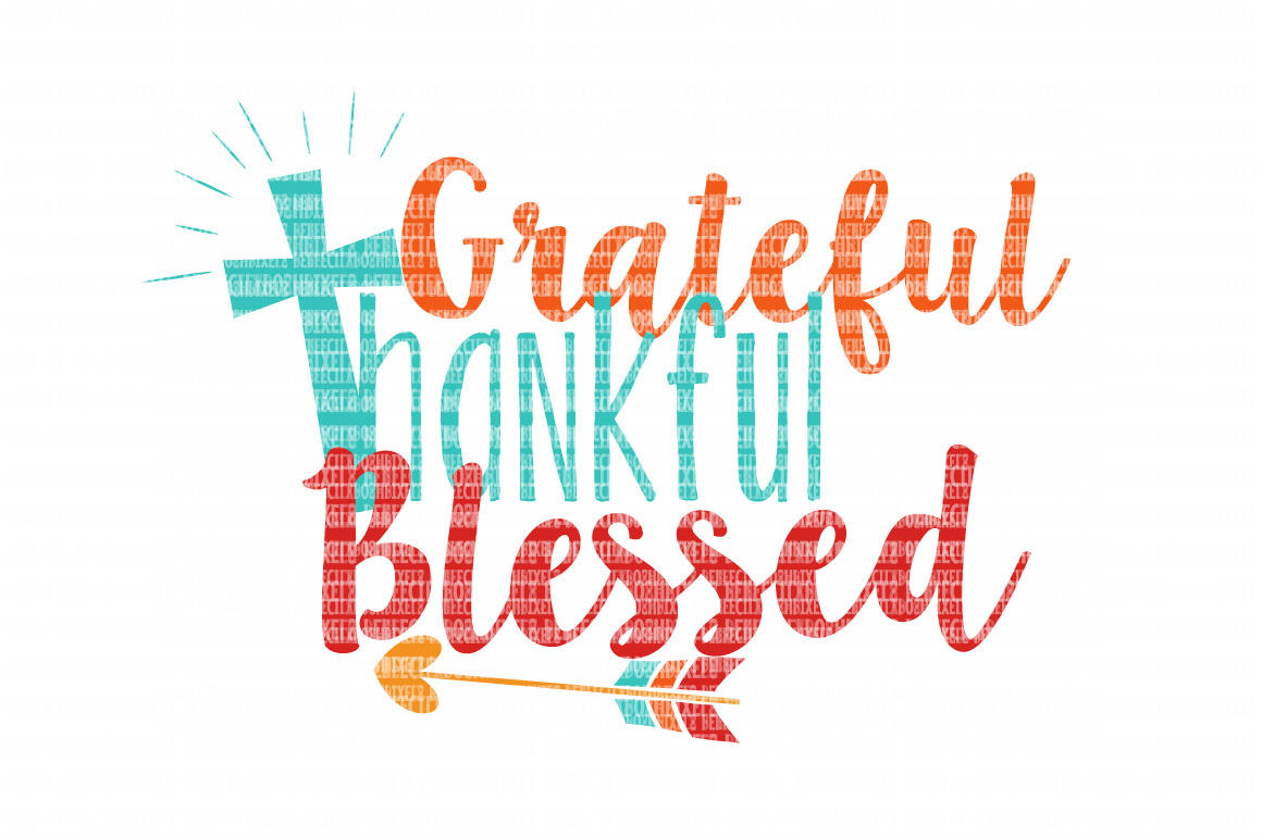 Grateful Thankful Blessed SVG Files for Cricut Design Space and Silhouette  Studio SVG for Cricut Scrapbooking Printable Clipart Scrapbooking.