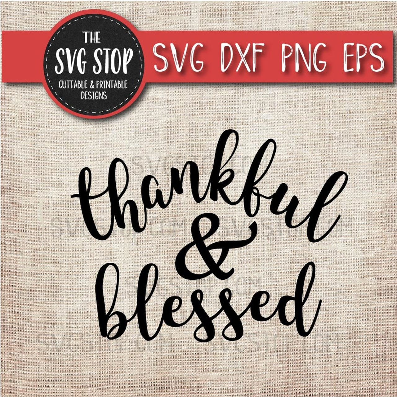 Thankful & Blessed.