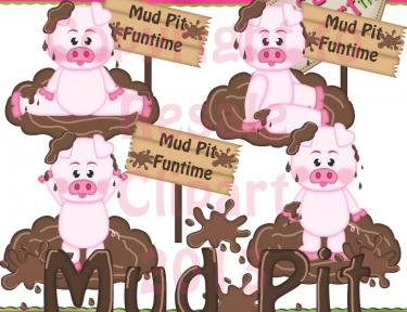 1299 Mud free clipart.