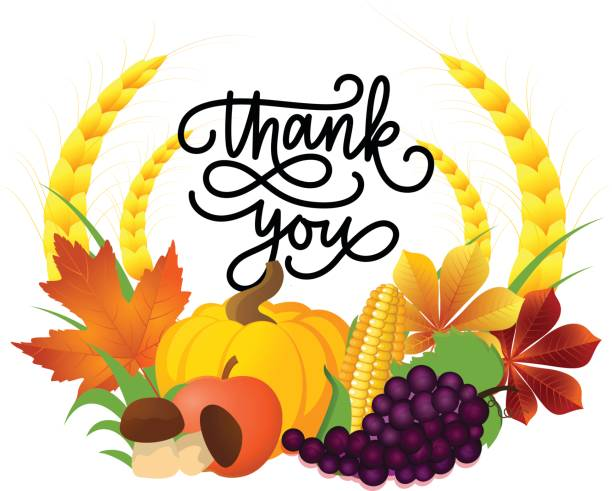 Thanksgiving Thank You Clipart.