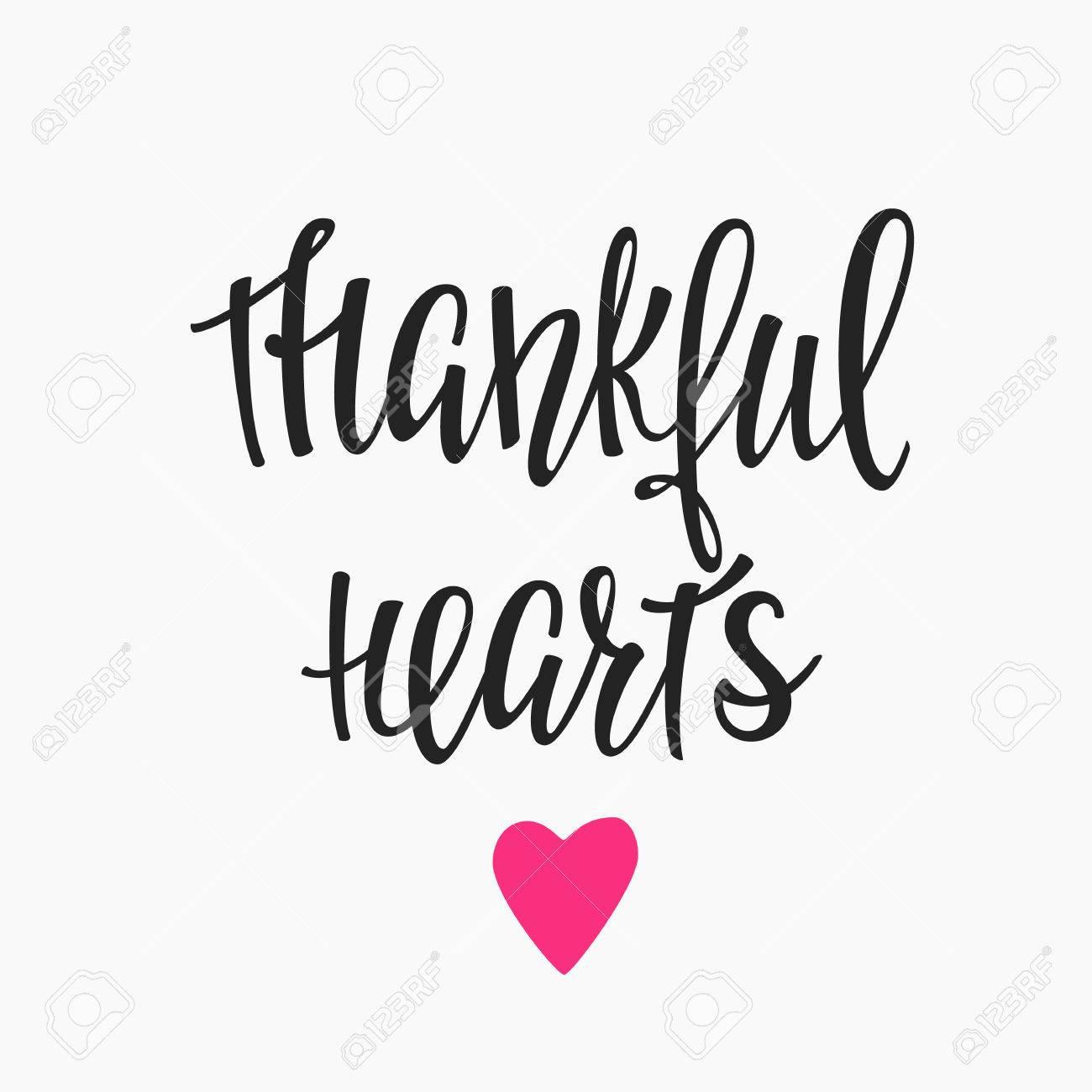 Thankful Heart Cliparts 13.