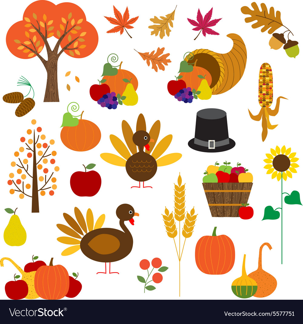 Thanksgiving clipart.