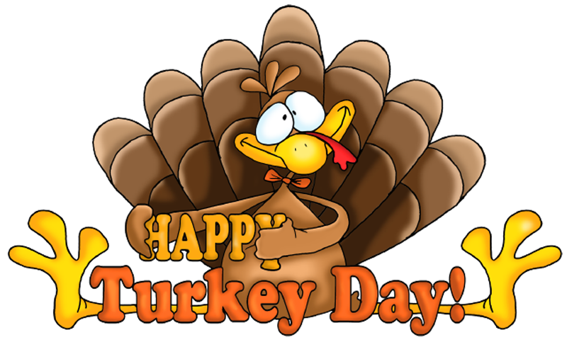 Happy thanksgiving day clipart.