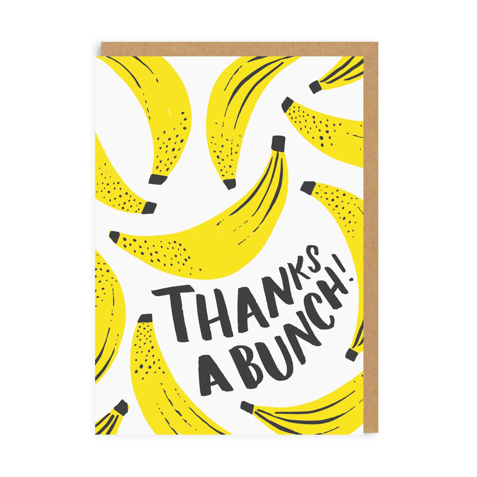 Thanks A Bunch Greeting Card.