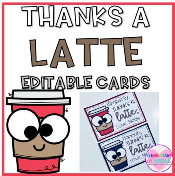 Thanks A Latte Clipart #472400.