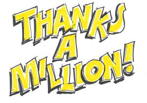 Thanks a million clipart clipart images gallery for free.