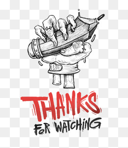 Thanks For Watching Png, Vectors, PSD, and Clipart for Free.