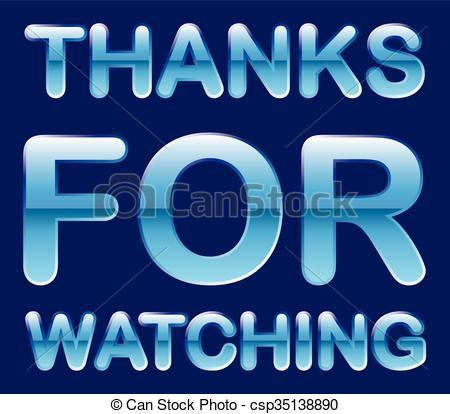 Thanks for watching clipart » Clipart Portal.