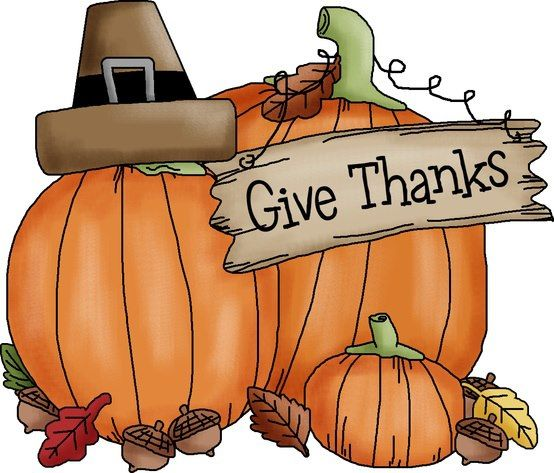 THANKSGIVING GIVE THANKS CLIP ART.