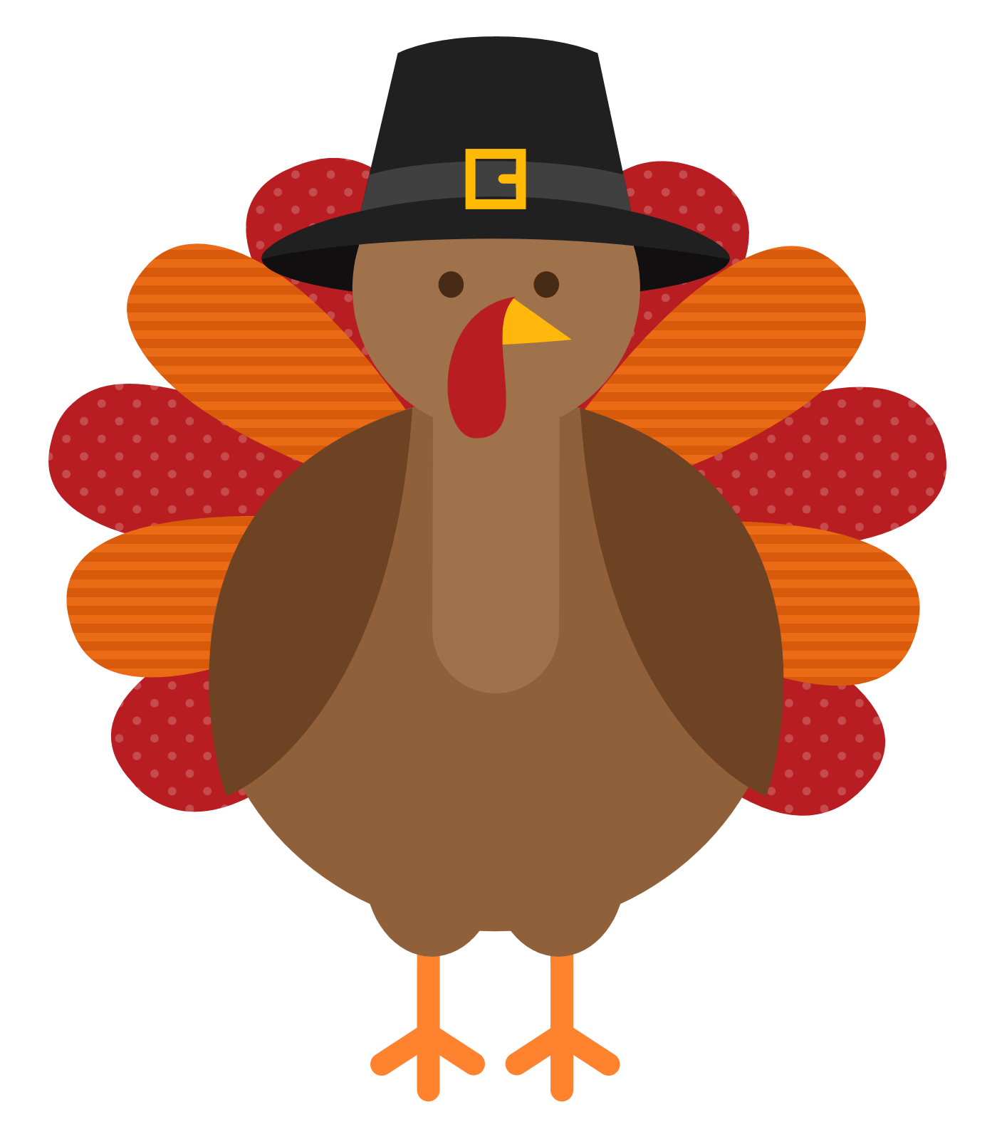 Thanksgiving Turkey transparent PNG.