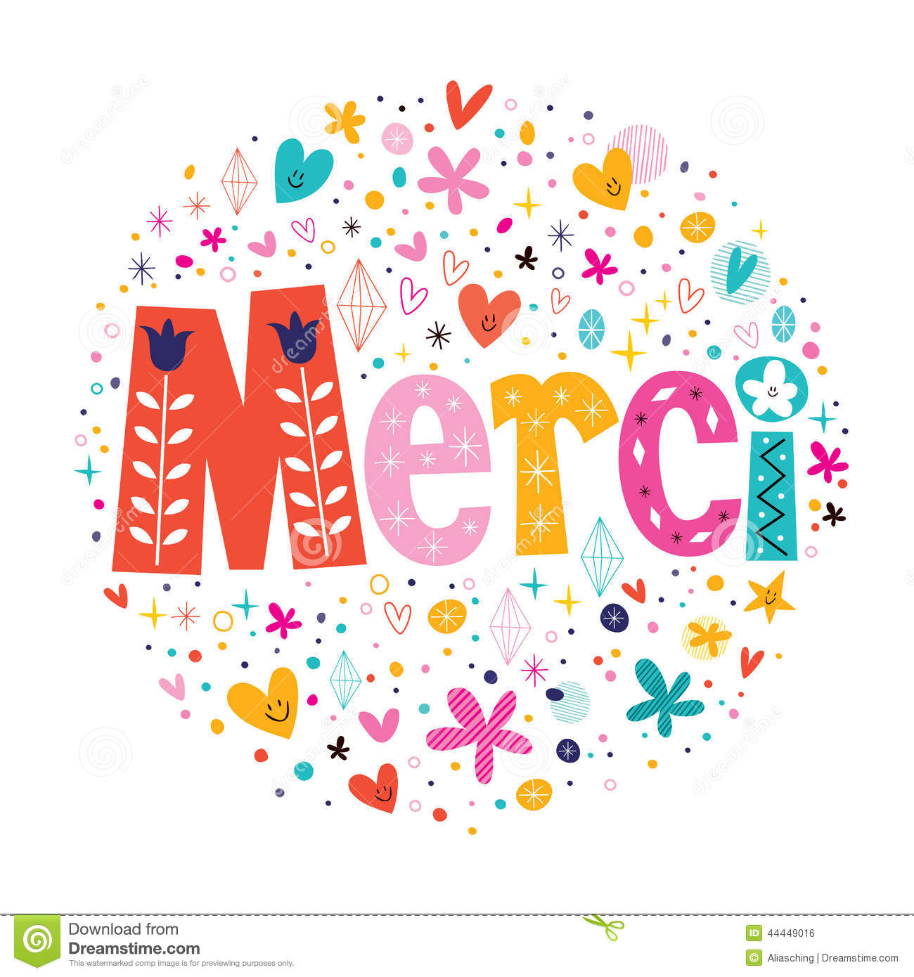 Congratulations Typography Lettering Decorative Text Card Design.