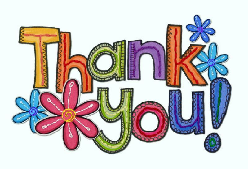 Congratulations & Thank You!.