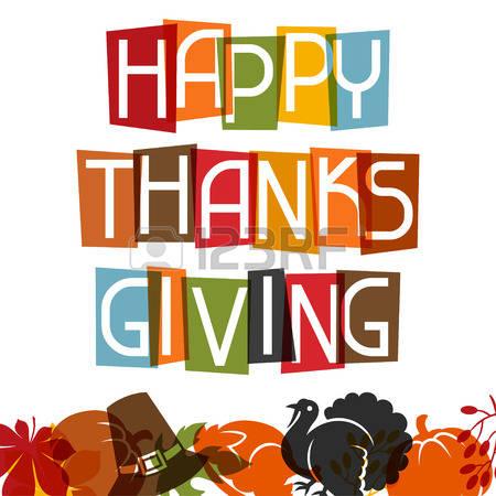 652 Congratulations Thanksgiving Stock Vector Illustration And.