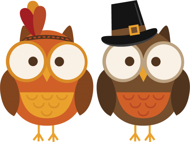 Happy Thanksgiving Banner Clipart.
