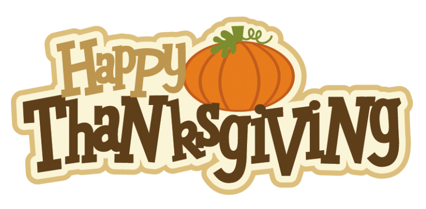 Happy Thanksgiving PNG Clipart Picture.