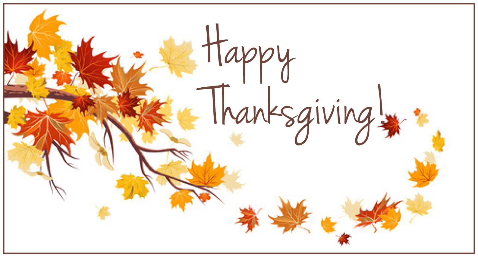 71+ Happy Thanksgiving Clipart Free Black and White, Banner.