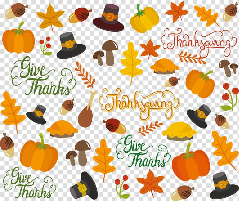 Thanksgiving , Thanksgiving element transparent background.