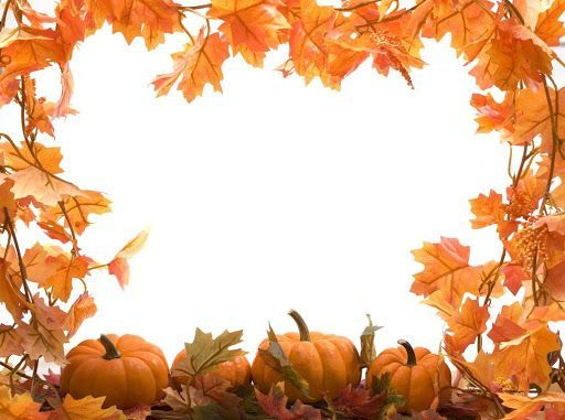 Animated Free Thanksgiving Black And White Clipart Borders.