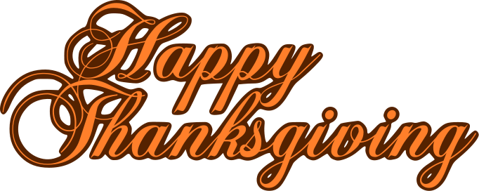 Thanksgiving Banner Clip Art.